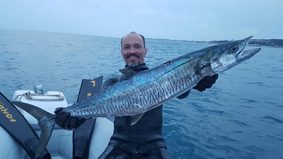 zıpkınla balık avı trofe ceylan antalya