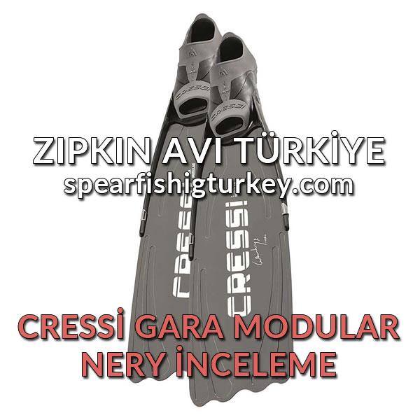 Cressi Gara Modular Nery Zıpkıncı Paleti İnceleme
