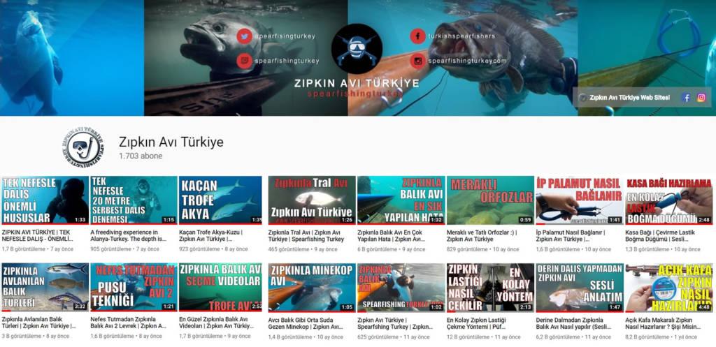 zıpkınla balık avı youtube kanalım