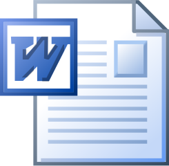 MS word DOC icon.svg